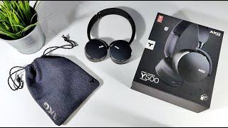 AKG Y500 HEADPHONES WIRELESS de $80 DÓLARES | UNBOXING en ESPAÑOL!!!