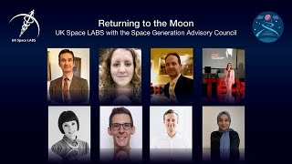 Image for vimeo videos on Returning to the Moon - A joint UK Space LABS and SGAC webinar on Health in Space