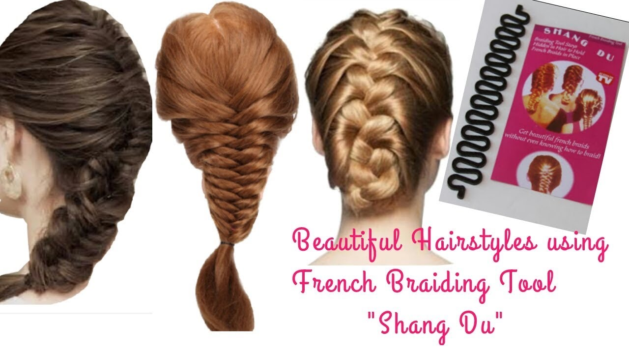 Quick Hairstyles Using French Braiding Tool Easy French Braid