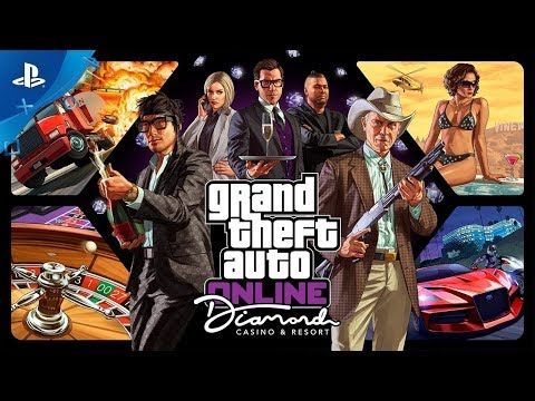 GTA Online   Обновление The Diamond Casino & Resort   PS4