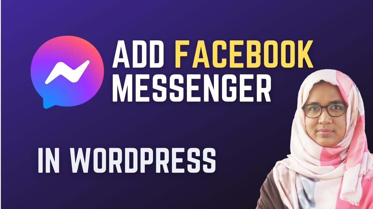 How to add Facebook Chat to Wordpress Website