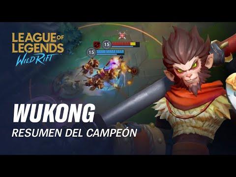 Resumen del campeón: Wukong | Experiencia de juego - League of Legends: Wild Rift