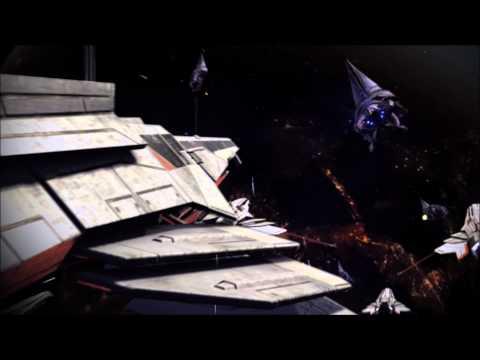 Mass Effect 3 Turian Fleet Fighting the Reapers HD