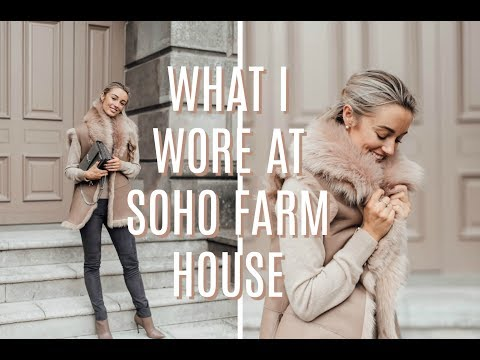 Outfit Diaries // What I Wore To Soho Farmhouse // Fashion Mumblr