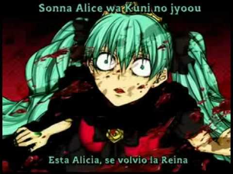 Alice Human Sacrifice Vocaloid Sub español