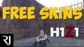 how to get free h1z1 skins