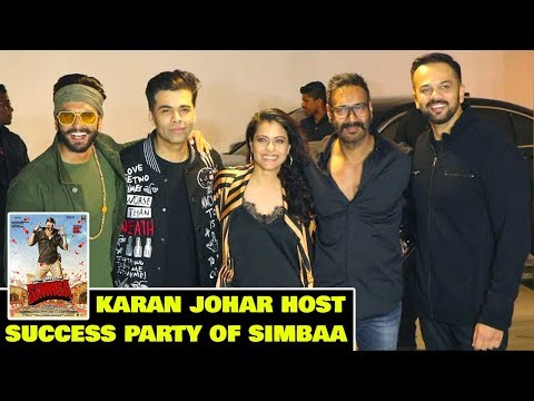 Karan Johar Host Success Party of SIMMBA | Ranveer Singh, Kajol, Ajay Devgan, Rohit Shetty Mp3