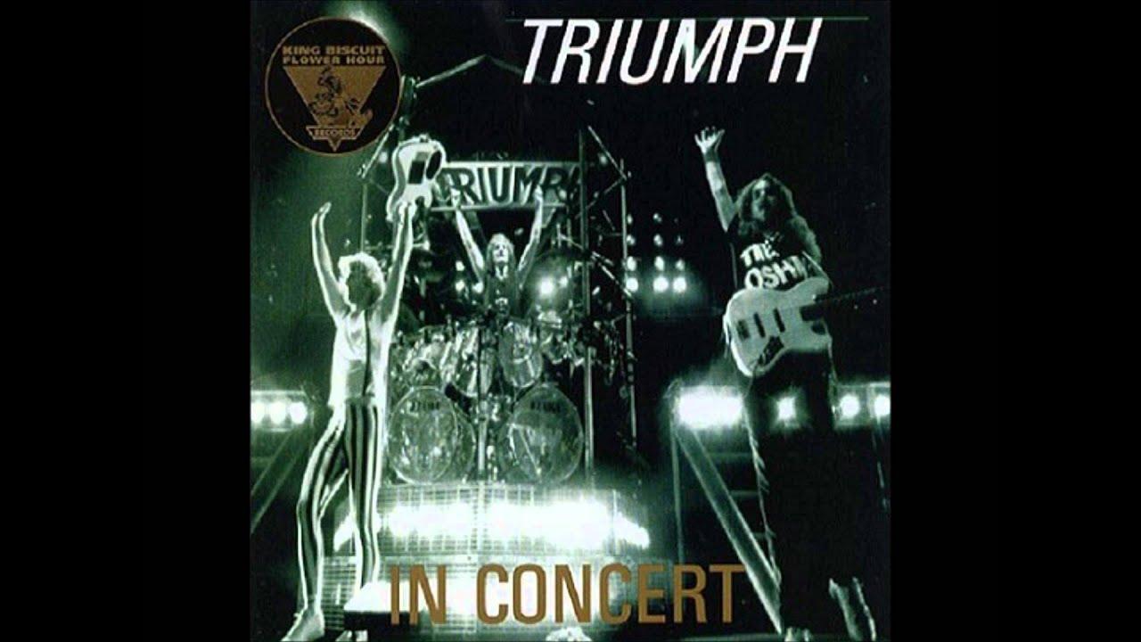 Rocky Mountain Way Live Triumph
