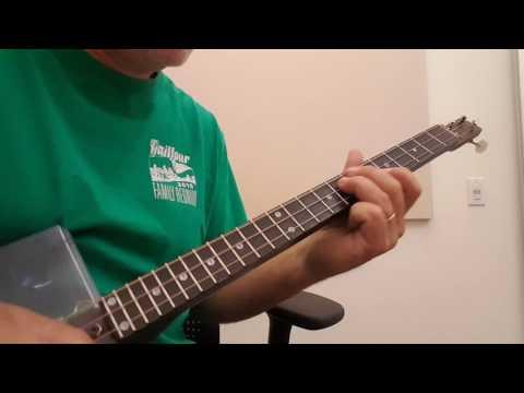 Modal Approach to the 3 String Cigar Box Guitar Part 1