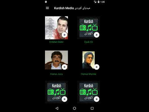 Kurdish Media App for iOS and Android
