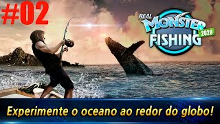 GAMEPLAY REAL MONSTER FISHING PESCANDO NA ILHA DA CHINA E TSUSHIMA ANDROID #02