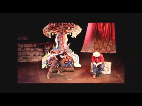 Opening Scene Bear Prince - jazz-opera 2015 production