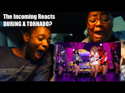 The Incoming Reacts to Work From Home LIVE on Ellen DURING A TORNADO