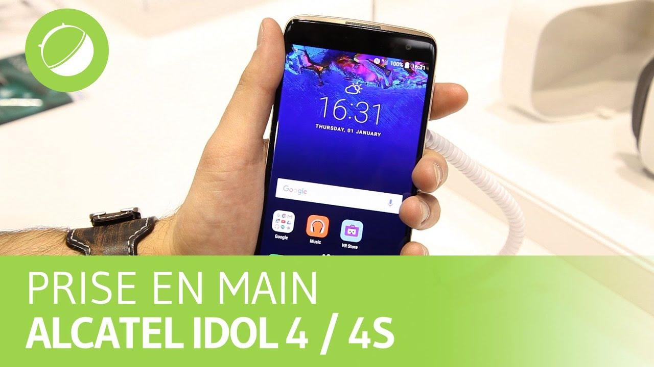 Alcatel Idol 4 et Idol 4S : trois mois après leur