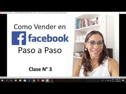 COMO VENDER EN FACEBOOK PASO A PASO - CLASE 3