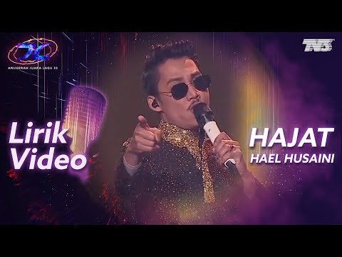 [Lirik Video] Hael Husaini - Hajat | #AJL33