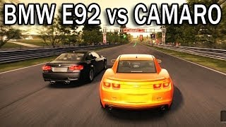 NFS Shift - BMW E92 vs Chevrolet Camaro SS