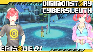 Digimon Story : Cyber Sleuth - Ep 1 : Digital Network & Prologue: Eden!