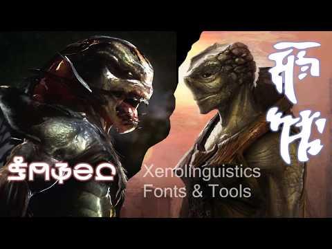 Xenolinguistics Fonts and Tools