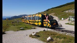 Salamander-Triebzug der Schneebergbahn 2017-09-14