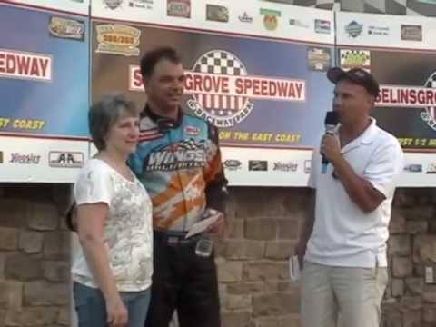 (Part 2) Selinsgrove Speedway PA Speedweek and Super Sportsman Highlights 7-08-12