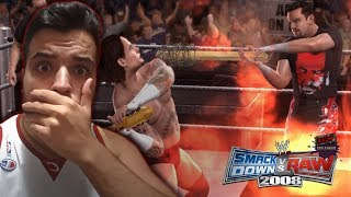 ASÍ ERA SMACKDOWN VS RAW 2008