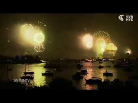 NYE Sydney 2014/2015 Fireworks Live Show Telstra - INDONESIA - ICC Canada Toronto
