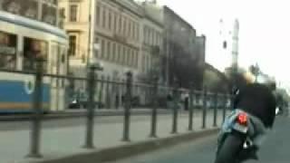 Motoros üldözés Debrecenben