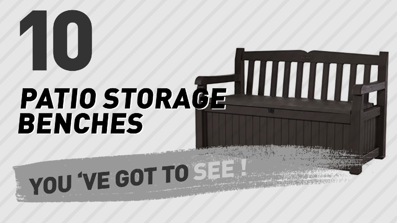 Top 10 Patio Storage Benches New Por 2017