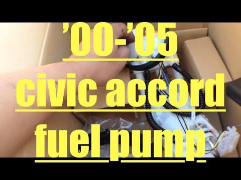 How To 92 00 Honda Civic Fuel Pump Change Doovi