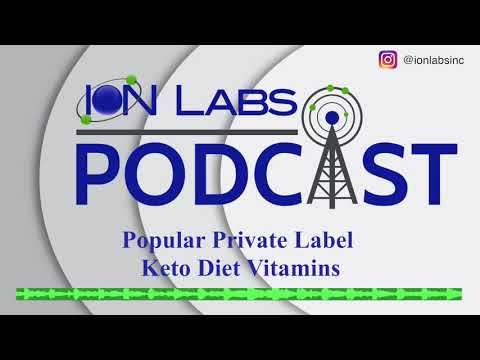 Popular Private Label Keto Diet Vitamins For Your Brand [Infographic