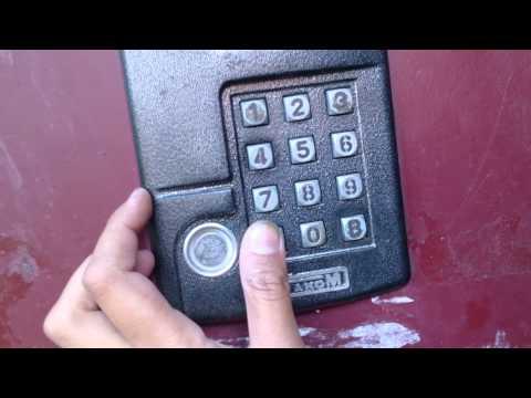 Как открыть домофон metakom без ключа