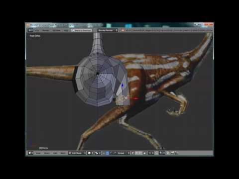 Ornithomimus 3D - Carnage Era