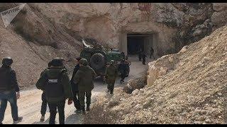 俄围歼阿勒颇叛军,发现一座完整地下城市,大批女俘流泪致谢普京