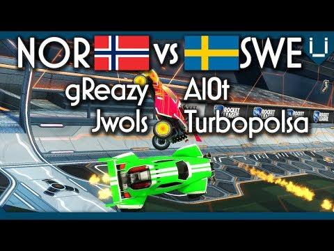 Norway vs Sweden | Rocket League 2v2 thumbnail