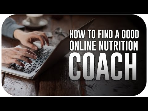 How To Find A Good Online Nutrition Coach