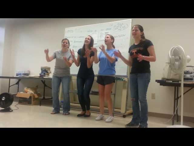 Četiri djevojke su ustale u sred časa, ali kada su počele pjevati ovaj klasik? NEVJEROVATNO