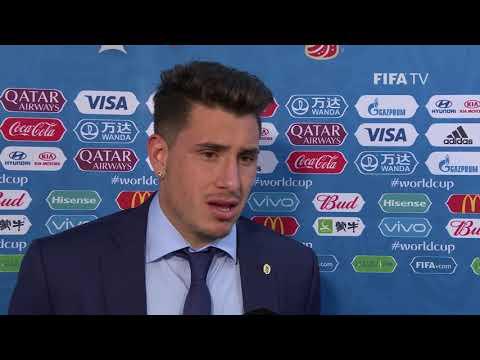Jose Gimenez (Uruguay) - Post Match Interview - MATCH 2