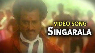 Rajinikanth & Mamootty || Superhit Hit Song Singarala || Dalapathi Hit Movie