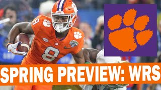 Clemson Spring Preview: Wide Receivers