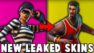 14 SECRET SKINS *LEAKED* IN FORTNITE EARLY! FIRST LOOK! (NEW SKINS, GLIDERS, PICKAXES AND EMOTES )