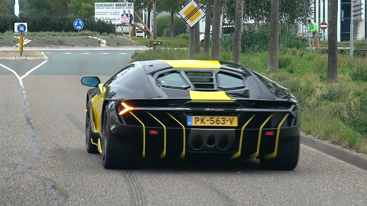 2 5 Million Lamborghini Centenario Lp770 4 On The Road Youtube