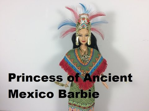 Unboxing of Princess of Ancient Mexico (Aztec) Barbie