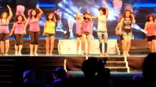 Zumba® with ZES™ Sucheta Pal at  Sheru Classic 2013,Pune ,India Song DJ dale by Mara
