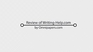 Writing-Help.com Review of Essay Writing Service