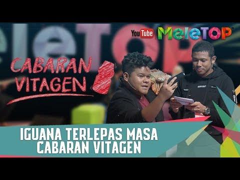 Iguana Terlepas Masa Cabaran Vitagen - Floor 88 & Nabil