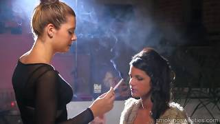 vuclip Sexy Girl Perfecting her Smoking
