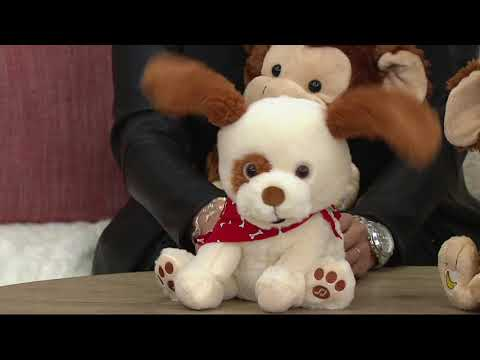 Cuddle Barn Animated Plush Friend with Music on QVC
