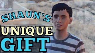Fallout 4 - Child Shaun Interactions Wazer Wifle