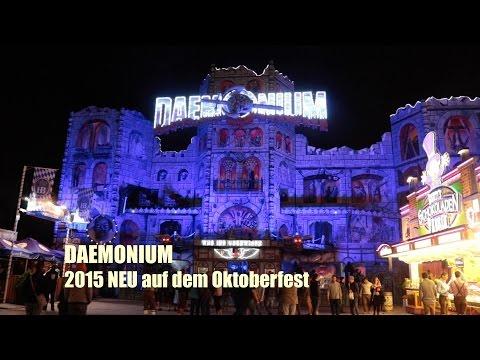 DAEMONIUM - 2015 NEU auf dem Oktoberfest - offride/onride & Interview
